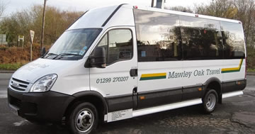 Mawley Oak Travel - Minibus and coach hire